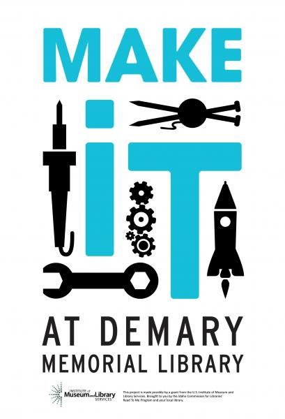 Make it at the Library