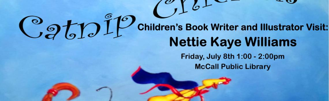 Children's Book and Illustrator Visit